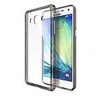 REARTH Ringke Fusion Samsung Galaxy A5 [RFSG018] - Smoke Black - Casing Handphone / Case